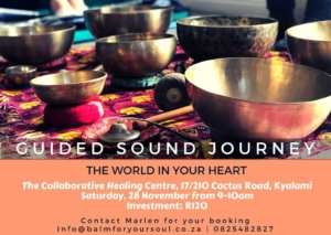 guided sound journeys at the chc flyer