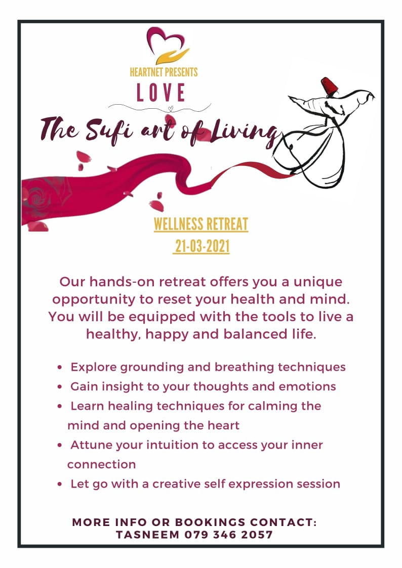 The Sufi Art of Living Wellness Retreat at the CHC