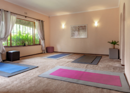 Meditation and practise room at the CHC
